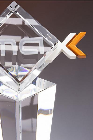 3D-Druck vereint mit Kristall