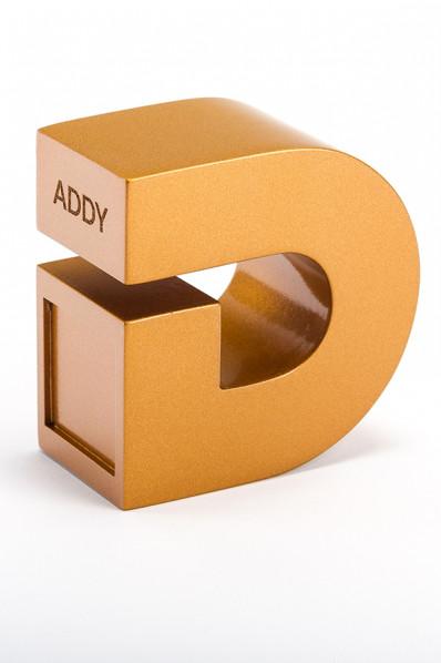 3D-gedruckte Trophäe