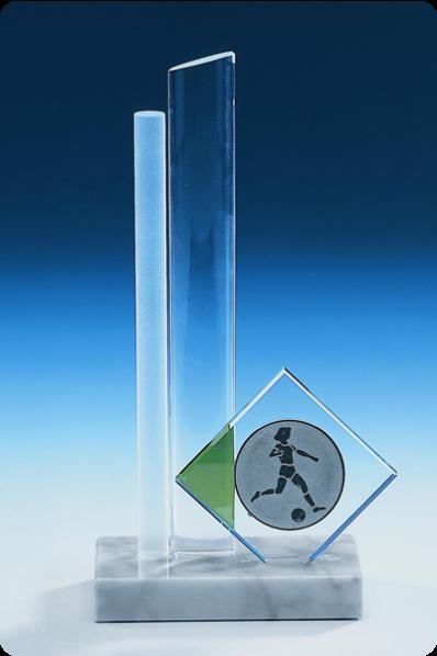 Zwei-Säulen-Plakette