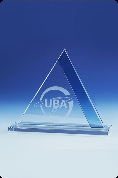 Eine kleine Glaspyramide