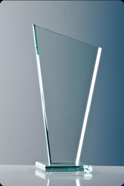Glasplakette