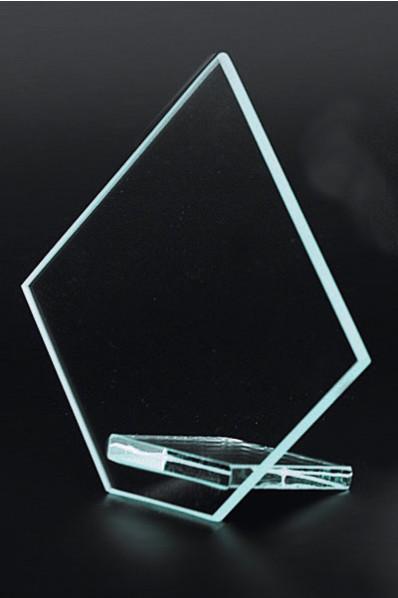 Fünfeckige Plakette