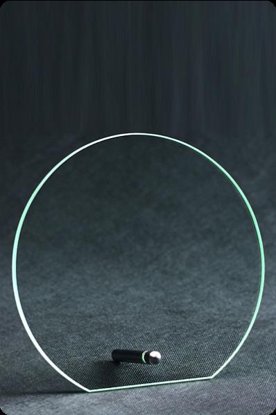 Kreisförmige Plakette