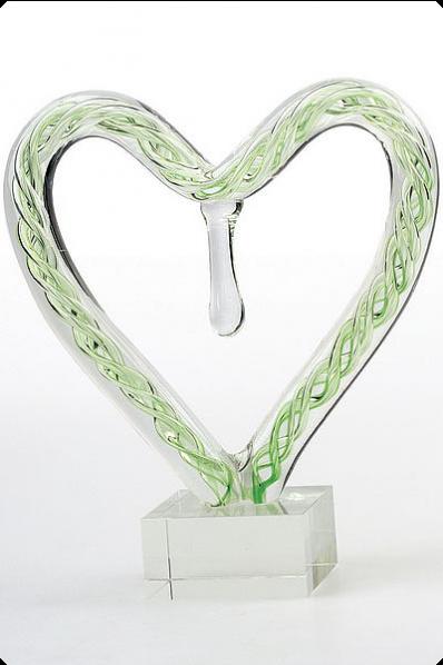 Kunstglas-Herz