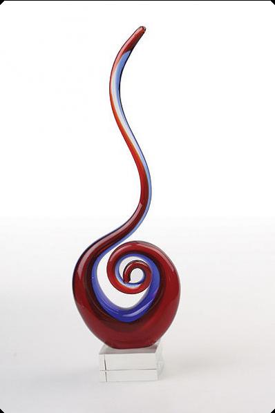 """Kunstglas """"Kobra"""""""