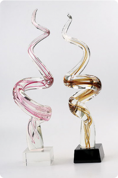 "Kunstglas ""Spirale"""
