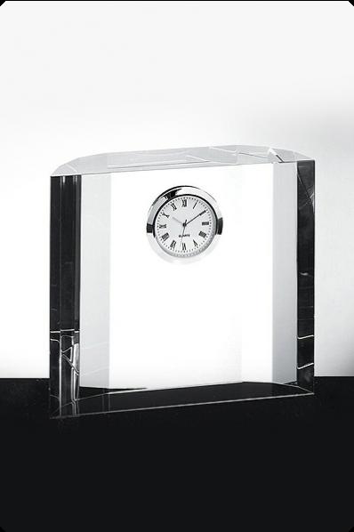 "Uhr ""Kristallblock"""